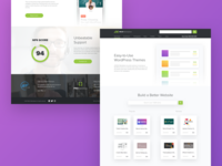 WordPress Themes Landing Page