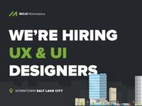 Hiring UX & UI Designers