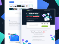 Cyber Monday Landing Page