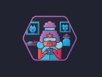 Grandma Badge
