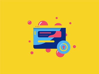 Provisioning illustration website web iconography flat branding vector icon design illustration