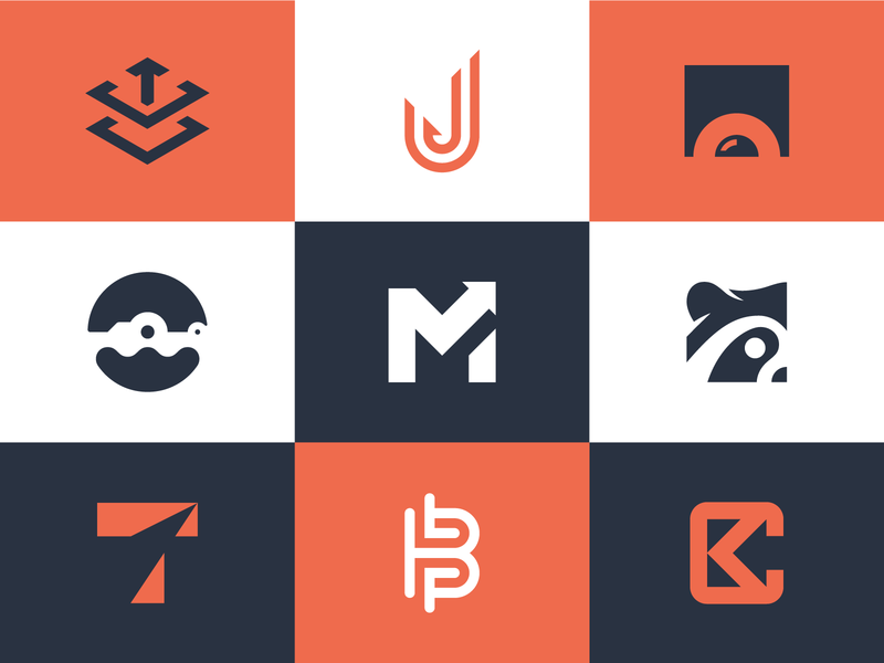 Top 9 Logos of 2019 brand identity identity branding logo mark logodesign logo monogram raccoon alligator