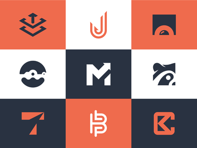 Top 9 Logos of 2019 brand identity identity branding logo mark logodesign logo monogram raccoon alligator
