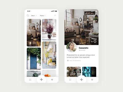 Interior Design Discovery App