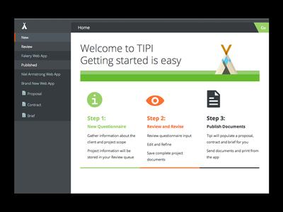 Tipi Homepage