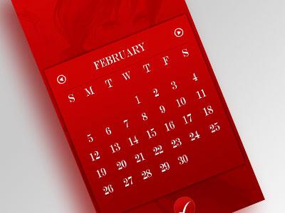 app design - calendar