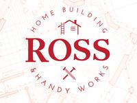 Ross Home Building & Handy Works Logo