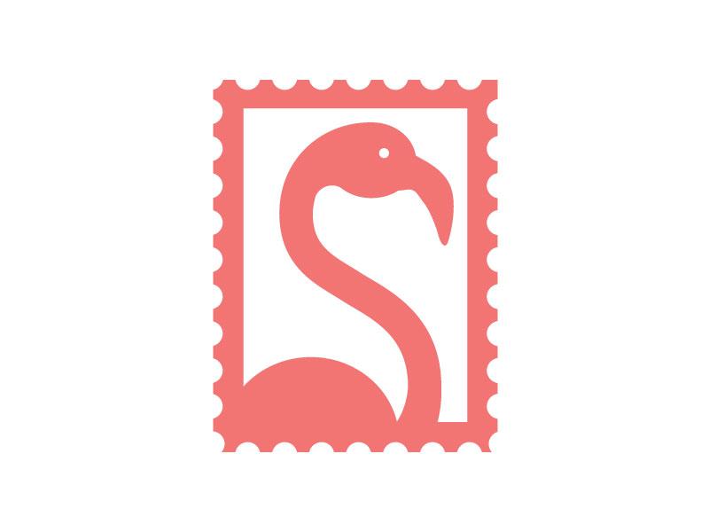 Flamingo simple flamingo