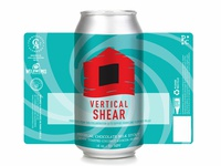 Vertical Shear Stout Can Design