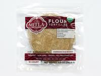 Mitla Tortilleria Flour Label Design