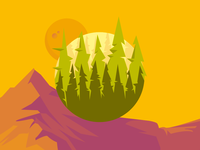 Forest Badge/Icon
