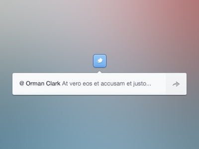 Twitter twitter icon clean button bar