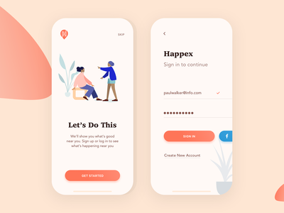 Happex - Find & Create Events