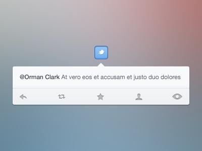 Twitter twitter clean nav icons button bar ui