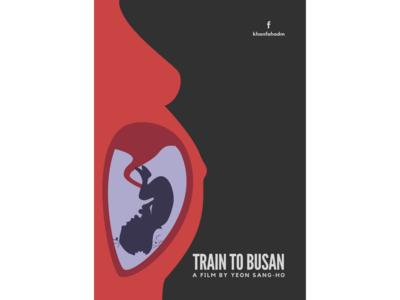 Train to Busan - Minimal Poster