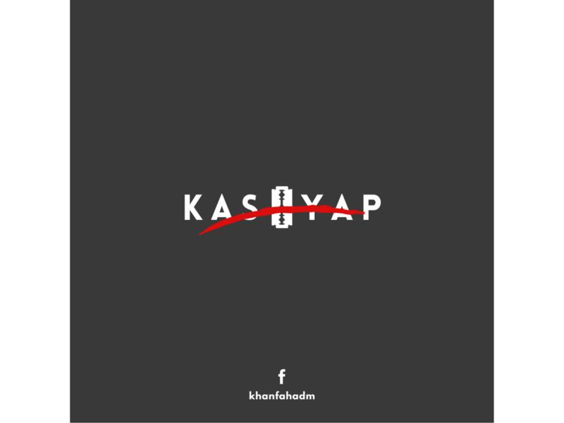 Anurag Kashyap - Minimal Logo kashyap anurag kashyap logo design logodesign minimal logos minimal logo design minimal logo netflix film poster poster design poster art poster minimal poster illustration minimalist minimalism minimal design