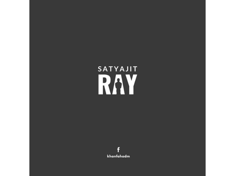 Satyajit Ray - Minimal Logo satyajit ray netflix film poster poster design poster art poster minimal poster illustration minimal design minimalist minimalism