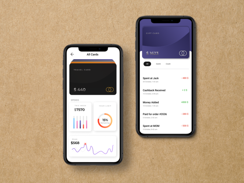 E Wallet interface uxdesign uidesign uiux mobile app design app design