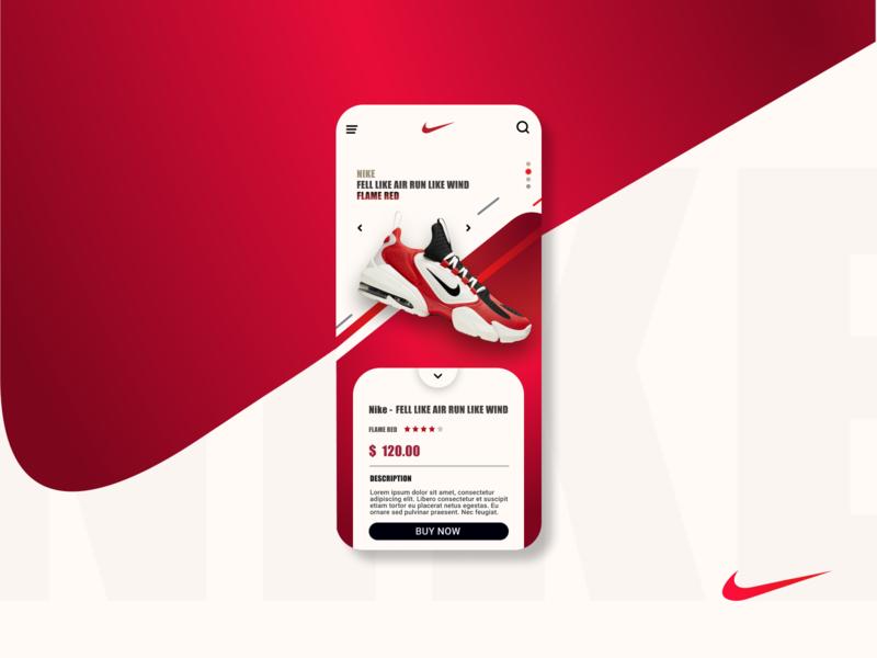 sneaker app app design app mobile app design uxdesign uidesign uiux interface nike shoes sneaker