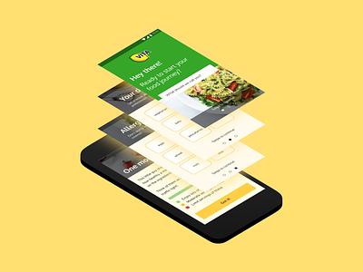 VITA - Health app onboarding figmadesign figma ui flat app ux design