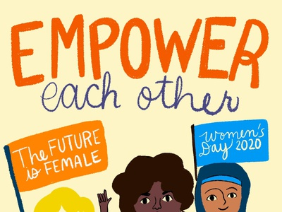 International Women's Day women in illustration women empowerment womens day