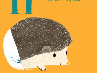 Hedgehog! animals illustrated baby animals cute animal children book illustration illustration illustrator childrens book