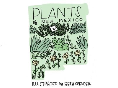 Plants of New Mexico Cover