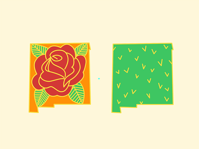 New Mexico Enamel Pin Designs