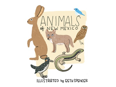 Animals Of NM Cover