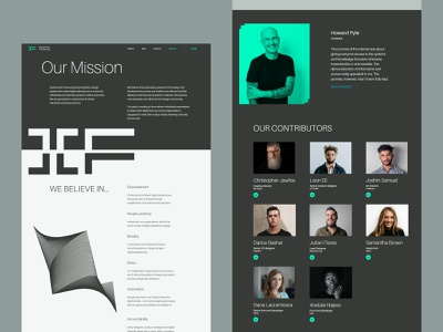 Experience Futures Mission Website ux ui interface design design community non-profit organization graphic design design studio web web design website design user interface digital agency digital marketing web marketing company website web layout web pages web interfaces minimalism