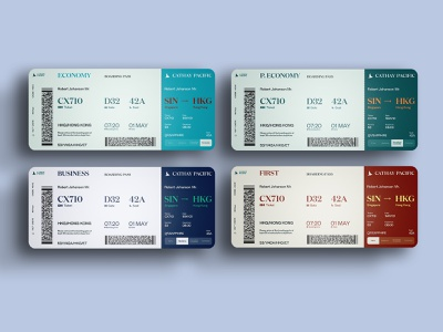 Airplane Ticket Redesign rebranding product physical ticket flight booking flights flight ticket ticket design minimalistic design vector branding illustration typography graphic design