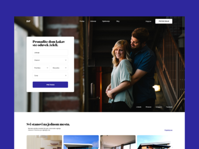 Apartment Search Website