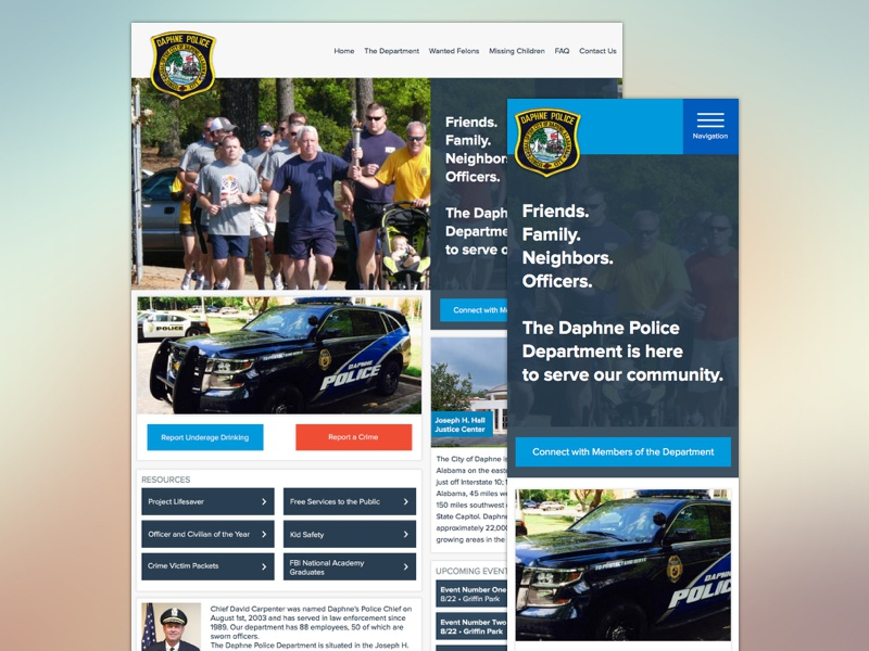 Daphne police department