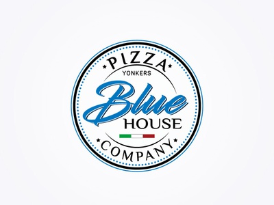 Blue House logo branding illustrator design logo vector typography logo design illustration