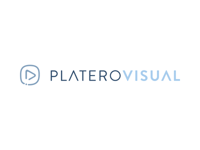 Platero Visual sketch branding icon logo