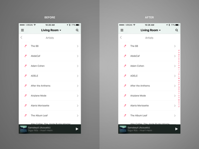 Unsolicited Sonos Redesign seriously wtf unsolicited redesign ios