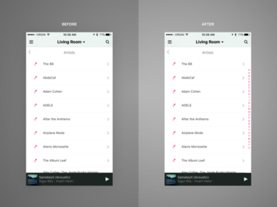 Unsolicited Sonos Redesign