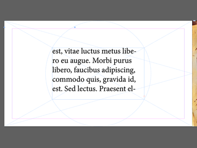 Page Spread fun indesign page layout book