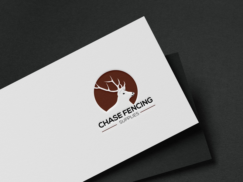 Logo design Chase Fencing Supplies business logo logo work business identity