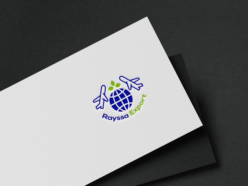 Import export logo business logo logo work business identity