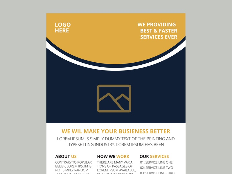 Corporate flyer design template (Approved by shuttersstock) brouchure cover design flyer designer flyer design ideas flyer template flyer design