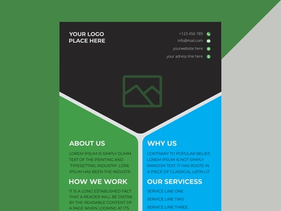 Corporate business flyer design (Approved by shutterstock) flyer flyer design ideas corporate flyer flyer designer flyer designs flyer design