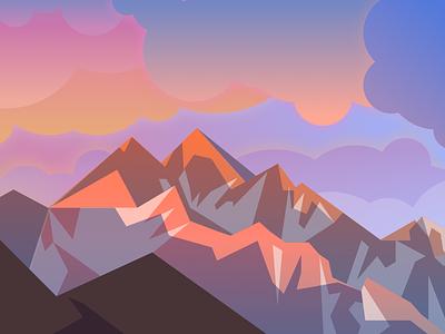 Mac Desktop Wallpaper - Sierra illustration wallpaper mac