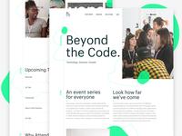 WIP - Beyond the Code.