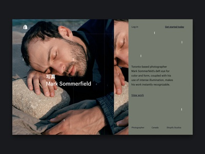 Experiment 19-1 ux typography ui logo design business art test site figma animation web landing page shopify