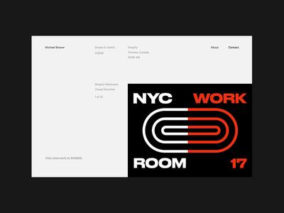 michaelbrewer.ca test ux flat branding typography logo ui site figma design web landing page