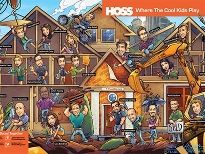 Hoss Double-Page Spread