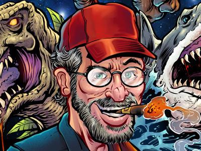 Stephen Spielberg Tribute parody movies e.t. jaws jurassic park stephen spielberg