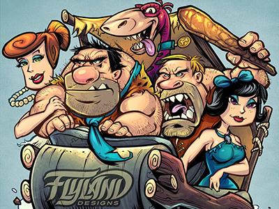 Flintstones Parody Copyright Copy