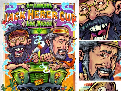 Event Poster for The Jack Herer Cup